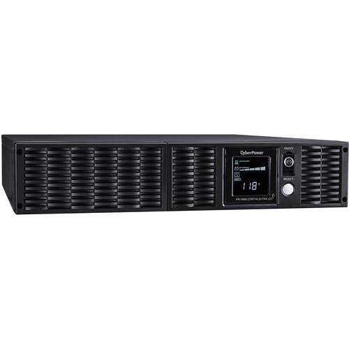CyberPower TAA UPS Pure SineWave 1500VA/1500W,2U,Nema 5-15P,10'Cord,8 Nema 5-15R,USB,SNMP,Relay,EPO,PE Software