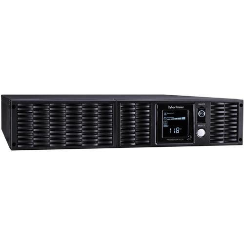 CyberPower TAA UPS 3000Va/3000W,Pure Sine Wave,2U,N L5-30P,9 Surge-Battery BU,USB,Ser,SNMP,Relay,EPO,PPSW