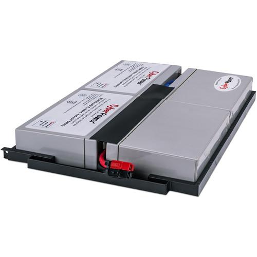 CyberPower Replacement Battery Cartridge for PR750LCDRM1U, Pr1000Lcdrm1U, 4 Batteries, 6V/9Ah, Sealed Lead-Acid