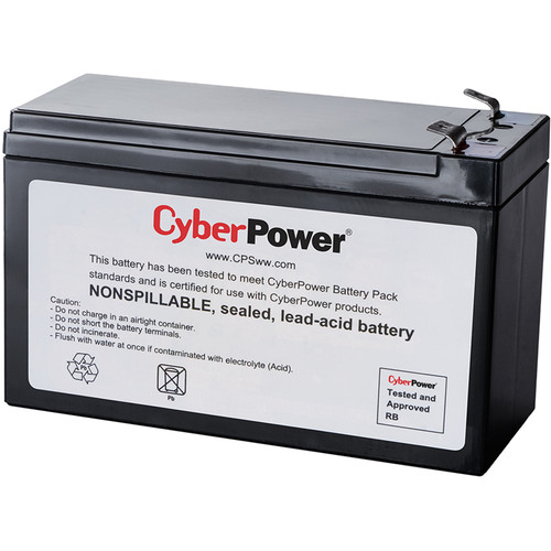 CyberPower RB1270C Uninterruptible Power Supply (UPS) Replacement Battery (Sealed Lead Acid)