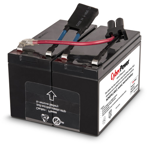 CyberPower Replacement Battery Cartridge for CP900AVR, 2 Batteries, 12V/7Ah