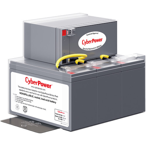 CyberPower RB1290X4K 4 Replacement Battery Package (Sealed Lead Acid)