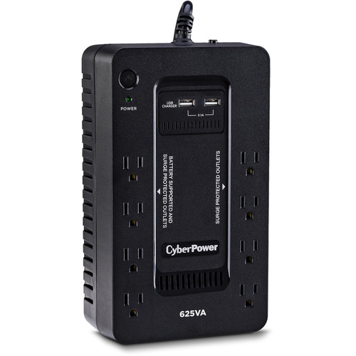 CyberPower ST625U 8-Outlet Standby UPS