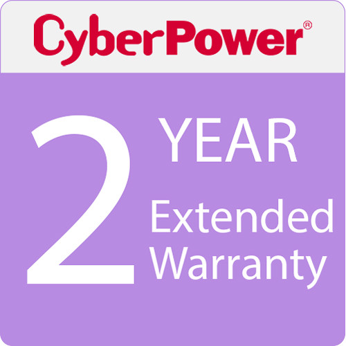 CyberPower UPS 1B 2-Year Extended Warranty f/AVRG750LCD,AVRG750U,AVRG900LCD,AVRG900U,BRG1000AVRLCD,BRG850AVRLCD