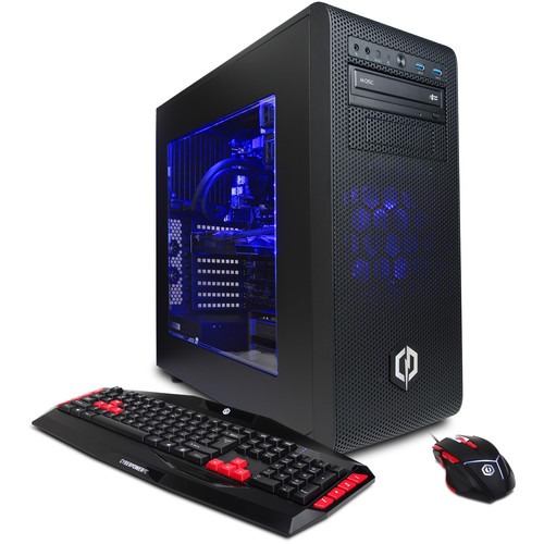 CyberpowerPC Gamer Supreme Liquid Cool SLC8280BH Desktop Computer