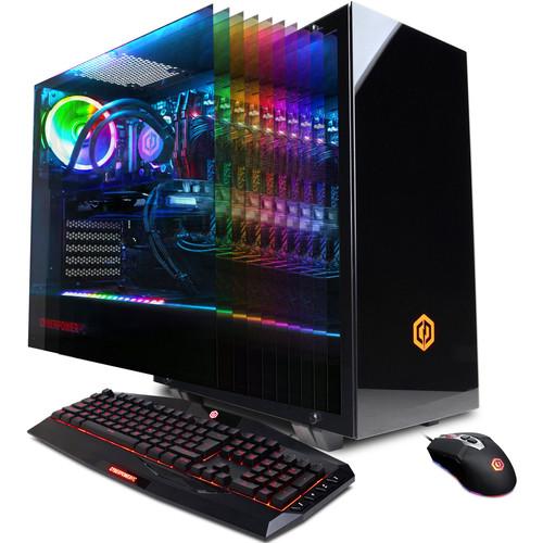 CyberPowerPC Xtreme Liquid Cool/ i7-9700K/ 3.6Ghz/ 16GB/ 2TB + 120GB SSD/ Geforce GTX 1050 Ti/ Windows 10 Home