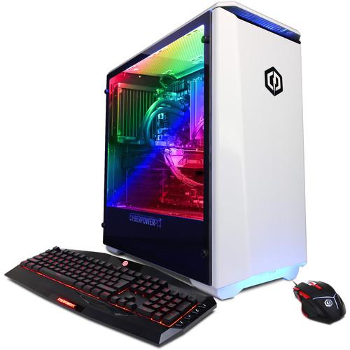 CyberPowerPC Gamer Panzer Liquid Cool Desktop Computer