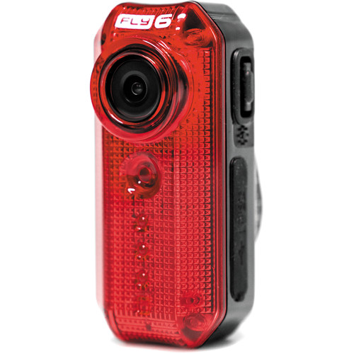 Cycliq Fly6 LED Tail Light with Built-in HD Camera