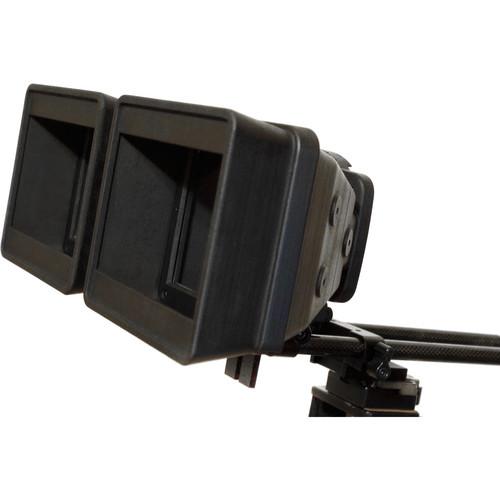 Cyclopital3D Lens Hoods for Panasonic Z10000 Stereo Base Extender (Pair)