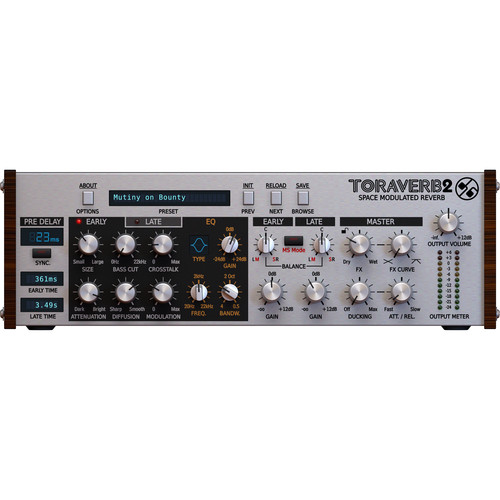 D16 Group Toraverb 2 Space Modulated Reverb Plug-In