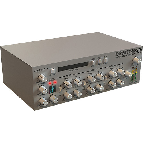 D16 Group Devastor Multiband Distortion Plug-In