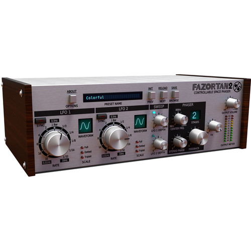 D16 Group Fazortan Controllable Space Phaser Plug-In