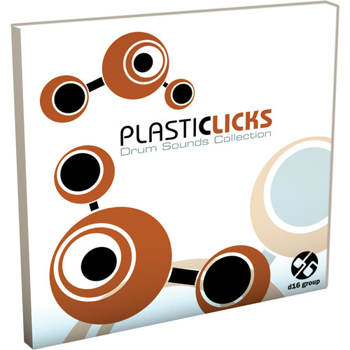 D16 Group Plasticlicks Drum Sound Library