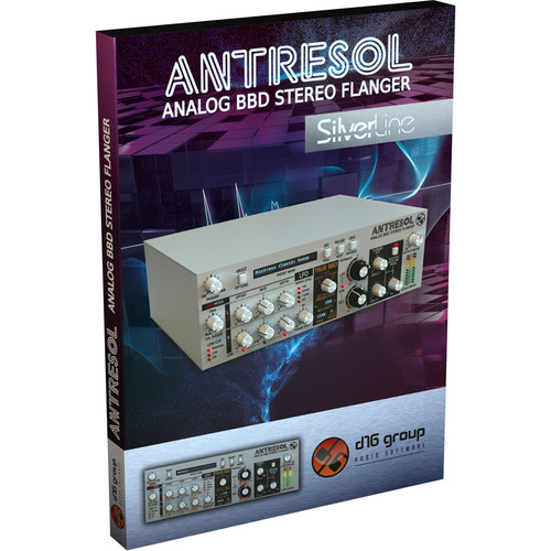 D16 Group Antresol Analog BBD Stereo Flanger Effect Plugin