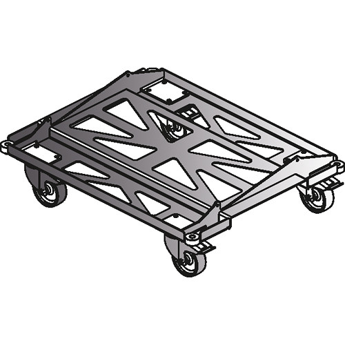 D.A.S Audio PL-Event 208S Metal Transport Dolly for Event 208A Speakers