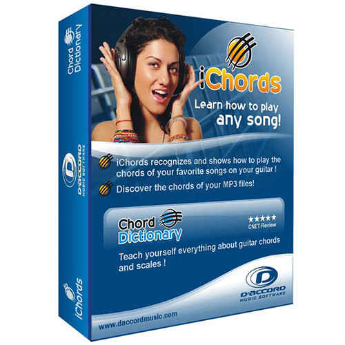 D'Accord Music Software iChords 2.0 (Electronic Download, Windows)