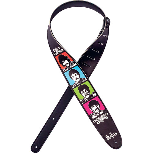 D'Addario Sgt. Pepper's Lonely Hearts Club Band 50th Anniversary Vegan Guitar Strap