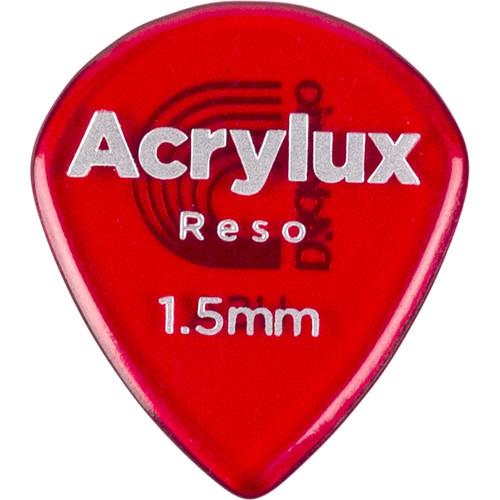 D'Addario Acrylux Reso Jazz Picks (3-Pack)