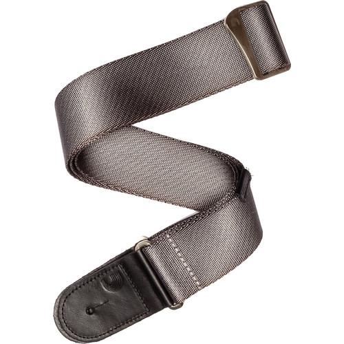 """D'Addario 2"""" Premium Woven Strap (34-57"""", Silver)"""