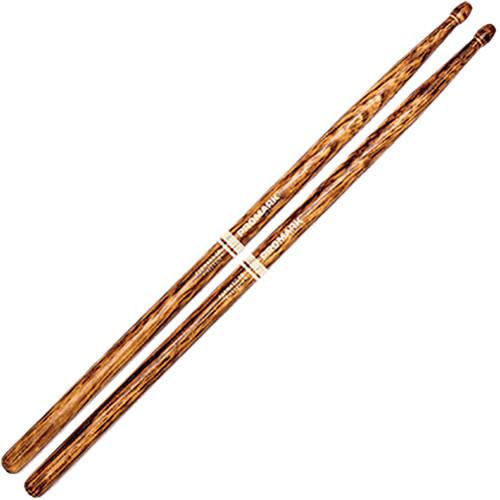 """D'Addario Forward 5B .595"""" FireGrain Wood Acorn Tip Drumstick (1 Pair)"""