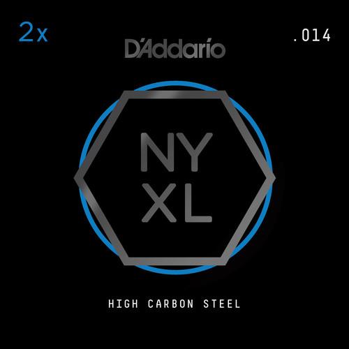 D'Addario NYXL High-Carbon Steel Single String for Electric Guitar (.014)