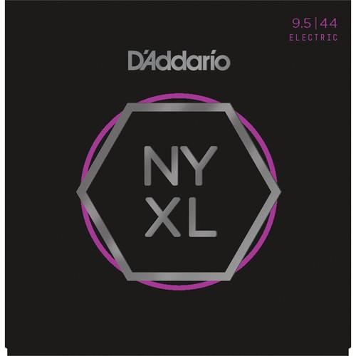 D'Addario NYXL09544 Super Light Plus NYXL Nickel Wound Electric Guitar Strings (6-String Set, 9.5 - 44)