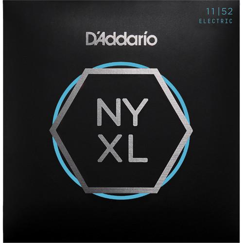 D'Addario NYXL1152 Medium Top / Heavy Bottom NYXL Nickel Wound Electric Guitar Strings (6-String Set, 11 - 52)