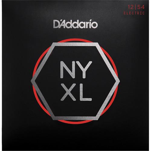 D'Addario NYXL1254 Heavy NYXL Nickel Wound Electric Guitar Strings (6-String Set, 12 - 54)