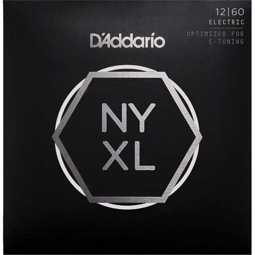 D'Addario NYXL1260 Extra Heavy NYXL Nickel Wound Electric Guitar Strings (6-String Set, 12 - 60)