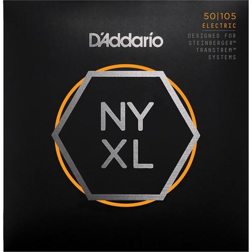 D'Addario NYXLS50105 Regular Light Electric Bass Strings (4-String Set, Double Ball End, Long Scale, 50-105)