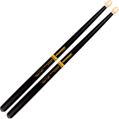 D'Addario Stephen Creighton ActiveGrip Pipe Band Stick with Oval Tip (Pair)