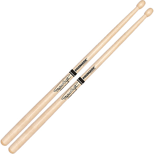 D'Addario Stephen Creighton Pipe Band Stick with Oval Tip (Pair)