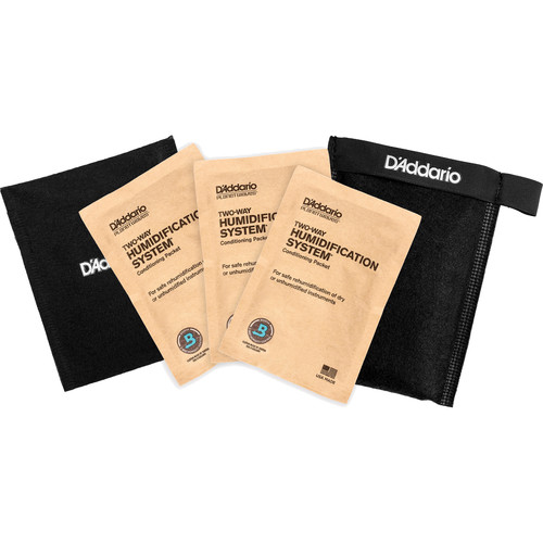 Planet Waves Humidipak Restore Kit (3 Packets)