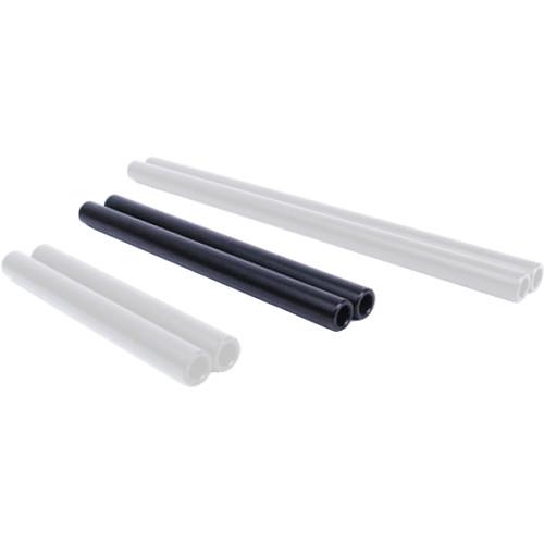 """D Focus Systems 15mm Aluminum Rods (Pair, 8"""")"""