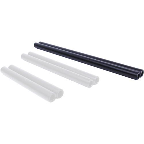 """D Focus Systems 15mm Aluminum Rods (Pair, 12"""")"""