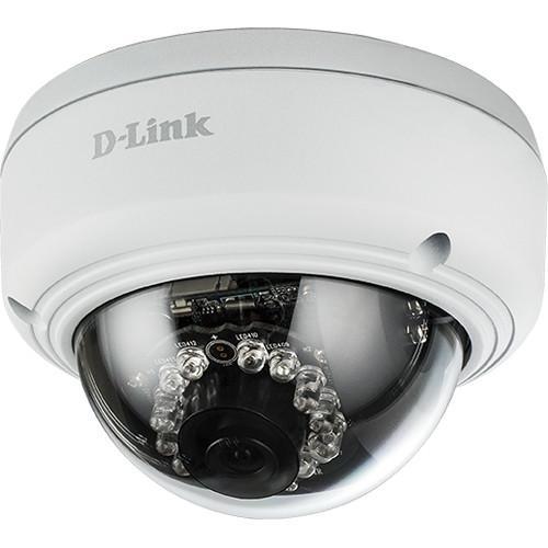 D-Link DCS-4602EV Full HD Vandal-Proof Outdoor Dome Network Camera