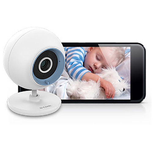 D-Link DCS-800L Wi-Fi Day & Night Live View Baby Monitor