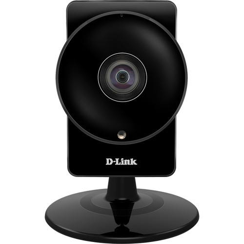 D-Link 720p Day/Night IR Indoor DCS-960L Camera with 1.2mm Fixed Lens and Wi-Fi