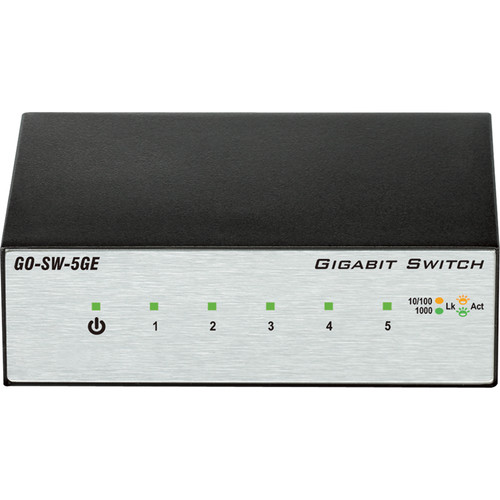 D-Link 5 Port Gigabit Metal Desktop Switch