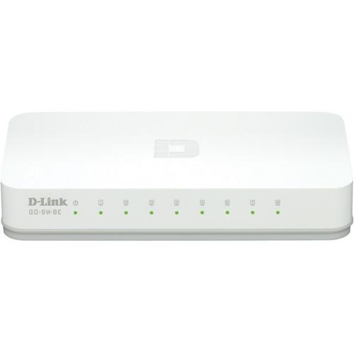 D-Link GO-SW-8E dlinkgo 8-Port Fast Ethernet Easy Desktop Switch