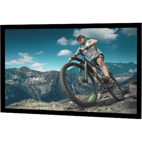 """Da-Lite Tensioned Cinema Contour HDTV Fixed Frame Projection Screen (49 x 87"""", HD Progressive 1.1 Perf)"""