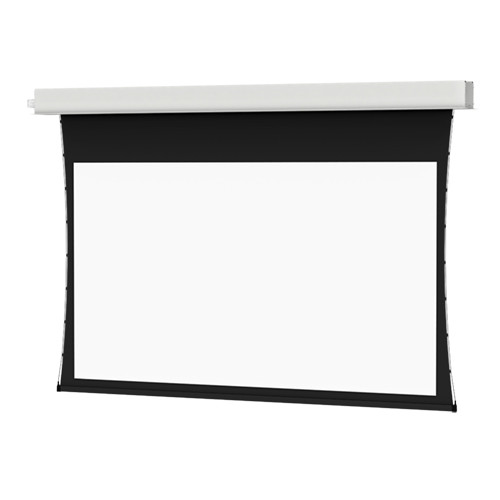 "Da-Lite 20849ELS Tensioned Advantage Electrol 65 x 104"" Ceiling-Recessed Motorized Screen (220V)"
