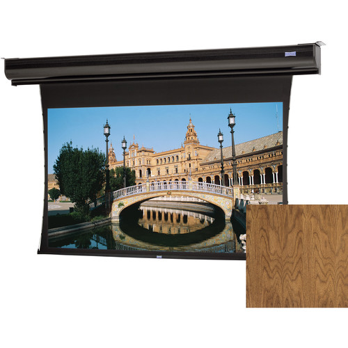 "Da-Lite 21855ELSNWV Tensioned Contour Electrol 57.5 x 92"" Motorized Screen (220V)"