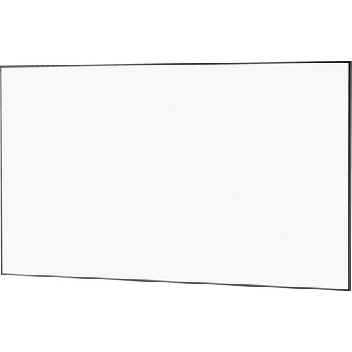 "Da-Lite 23725 78 x 139"" UTB Contour Fixed Frame Screen (Da-Mat, High Gloss Black Frame)"