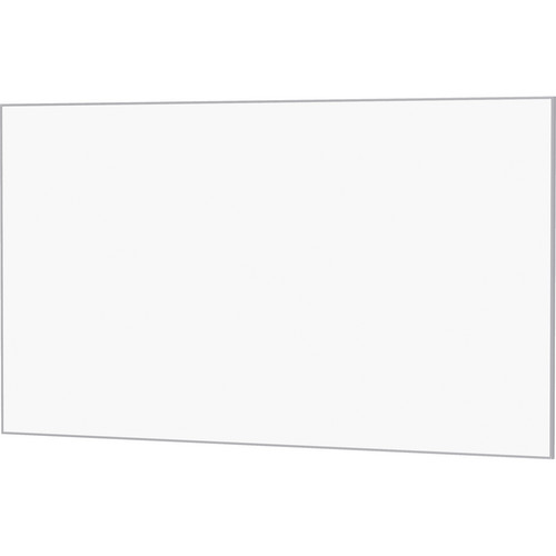 "Da-Lite 23916 65 x 153"" UTB Contour Fixed Frame Screen (Da-Mat, Acid Etched Silver Frame)"