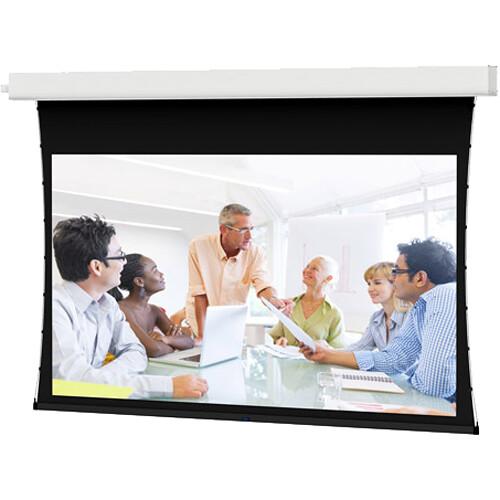 "Da-Lite Viewshare Advantage Tensioned 220V 133""/HDTV - Da-Mat HC with Video Projector Interface"