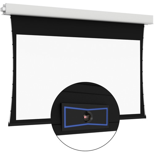 "Da-Lite 24077ELSI ViewShare Tensioned Advantage Electrol 72.5 x 116"" Ceiling-Recessed Motorized Screen (220V)"