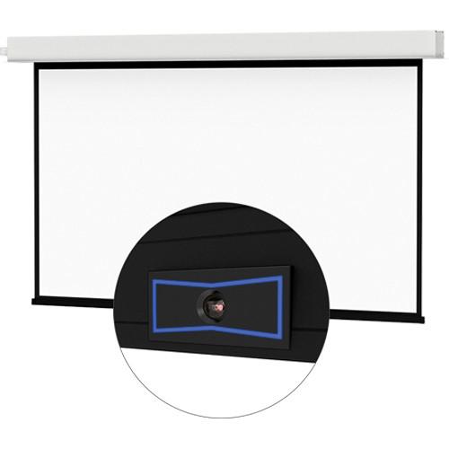 "Da-Lite 24087ELSM ViewShare Tensioned Advantage Electrol 54 x 96"" Ceiling-Recessed Motorized Screen (220V)"