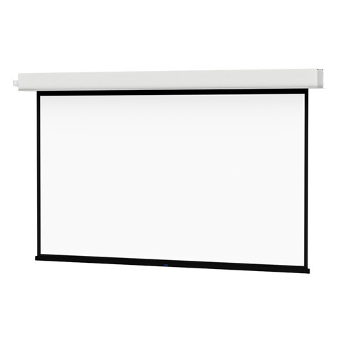 "Da-Lite 24103ELSI ViewShare Advantage Electrol 57.5 x 92"" Ceiling-Recessed Motorized Screen (220V)"