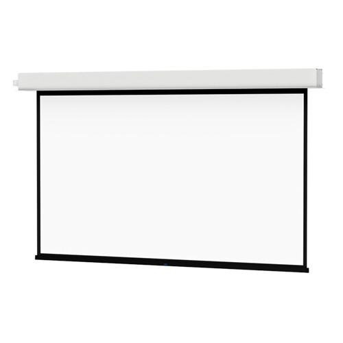 "Da-Lite 24103ELSR ViewShare Advantage Electrol 57.5 x 92"" Ceiling-Recessed Motorized Screen (220V)"